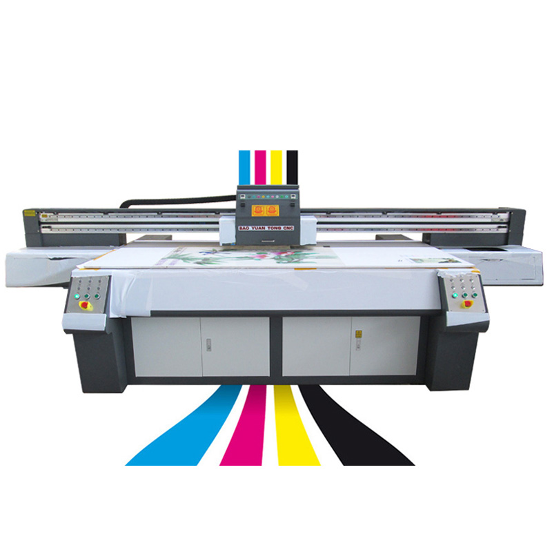 8 colors  flatbed UV Printer