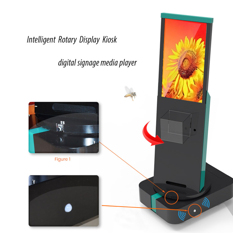 Intelligent Rotary Kiosk digital signage media player