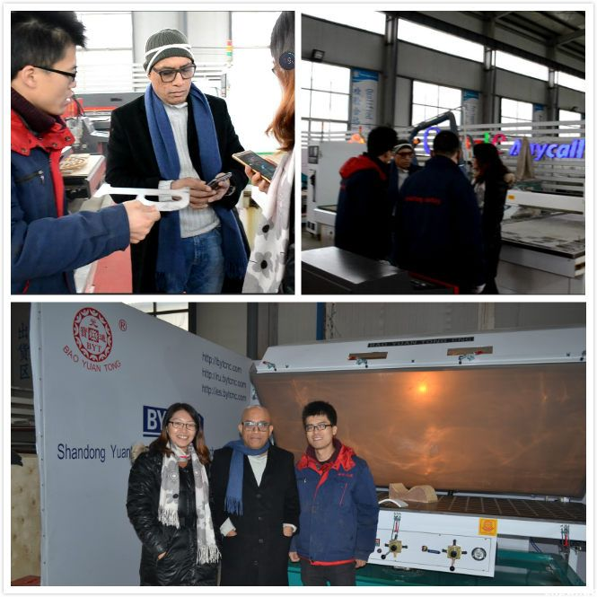 Bangladesh clients had a visit to Yuantong Century