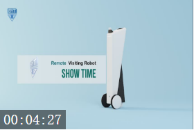 Remote visiting Robot