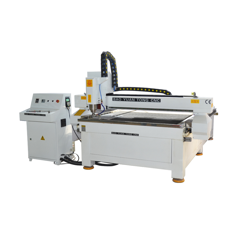 BMG1325M aluminium stainless steel cutting CNC Router