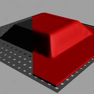 What is a vacuum forming machine used for?