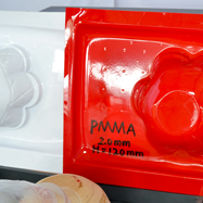 What products are made using vacuum forming?